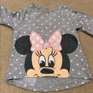 Disney Minnie polka dot shirt